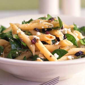 PENNE WITH SPINACH & STILTON