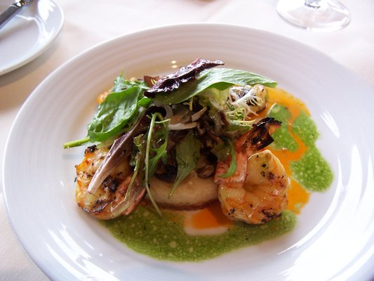 TIGER PRAWNS WITH TARRAGON SAUCE