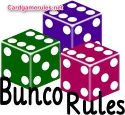 Bunco Game  Rules