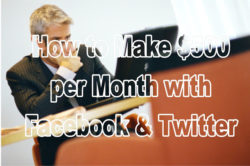 How to Make Money with Facebook & Twitter