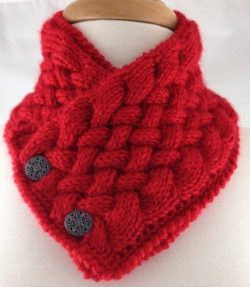 knitted neckwarmer