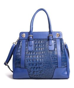 modern crocodile leather bag