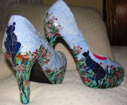 mosaic women shoes
