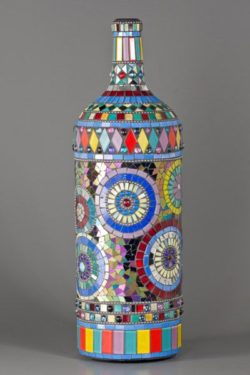 amazing mosaic bottle