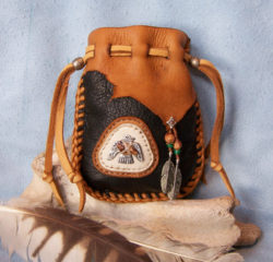 best leather medicine bag