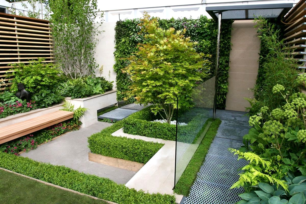 Small Garden Designs Ideas Modern Small Modern Garden