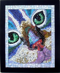 mosaic cat eyes
