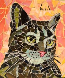 mosaic art by Anne Bedel