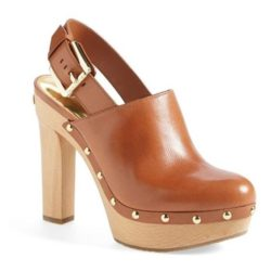 leather clogs for women