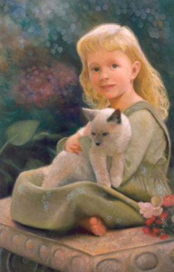 oil painting by Nancy Lee Moran